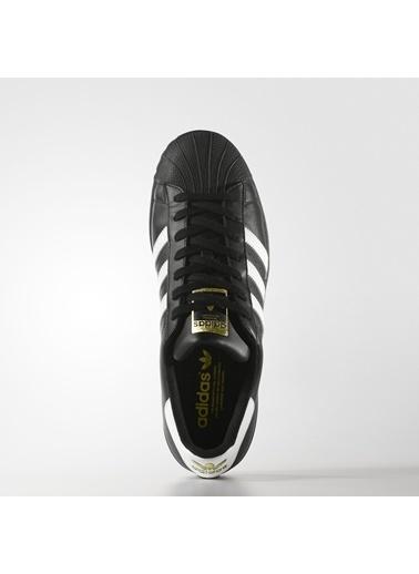 adidas Erkek Superstar Foundation Sneakers B27140 Siyah